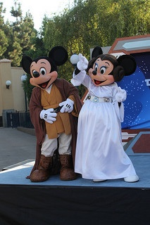 Mickey & Minnie Star Wars