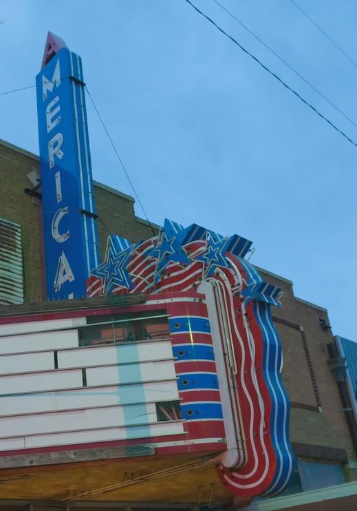 America Theatre Marquee