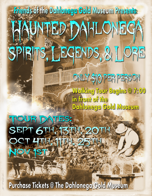 Haunted Dahlonega Tour Poster