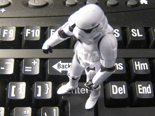 Stormtrooper Keyboard