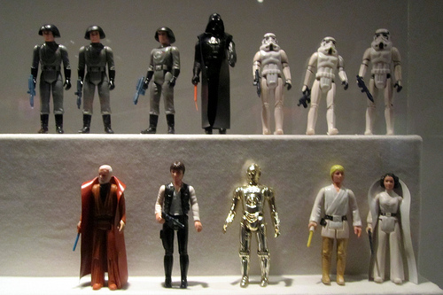 SW 1977 Action Figures