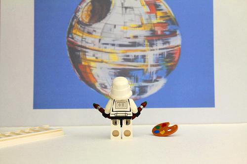 Stormtrooper Artist