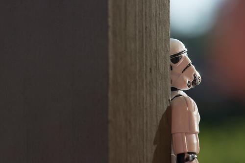 Stormtrooper Hiding