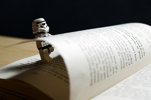 Tiny Stormtrooper Big Book