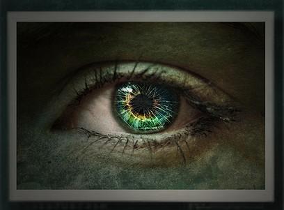 Broken Glass Eye
