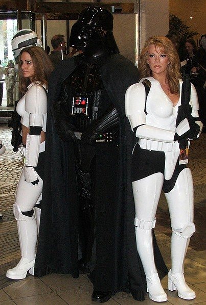 Vader with FemTroopers