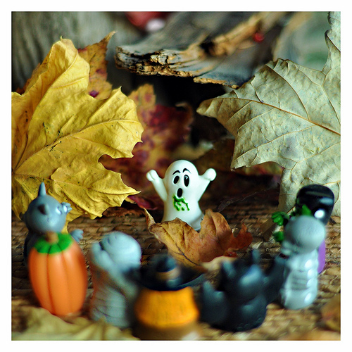 Ghost in the Autumn Leaves