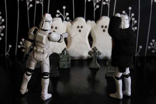 Ghost Peeps and Stormtroopers