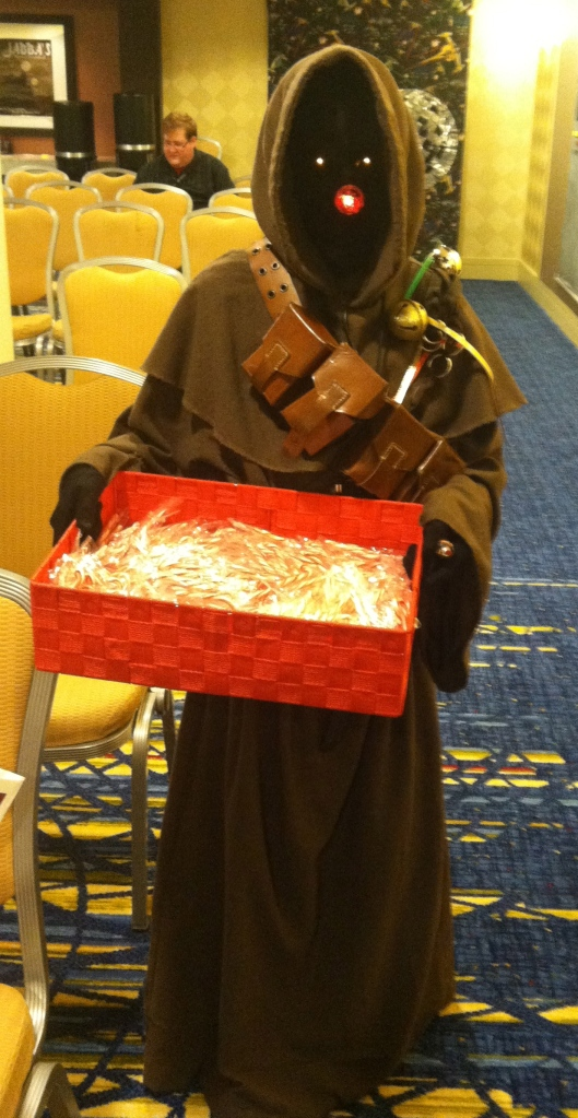 Rudolph the Red-Nosed Jawa!