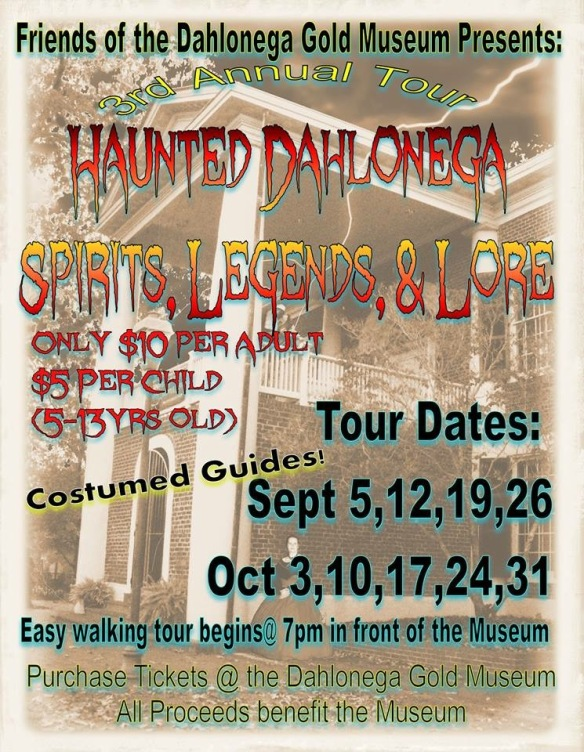2015 Haunted Dahlonega Walking Tour
